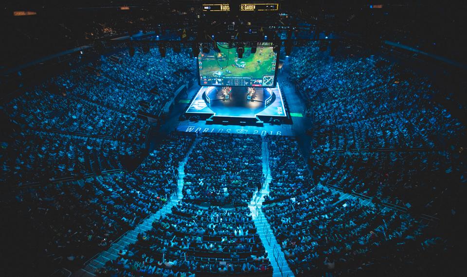 Madison Square Garden, địa điểm tổ chức vòng bán kết Chung Kết Thế Giới 2016.