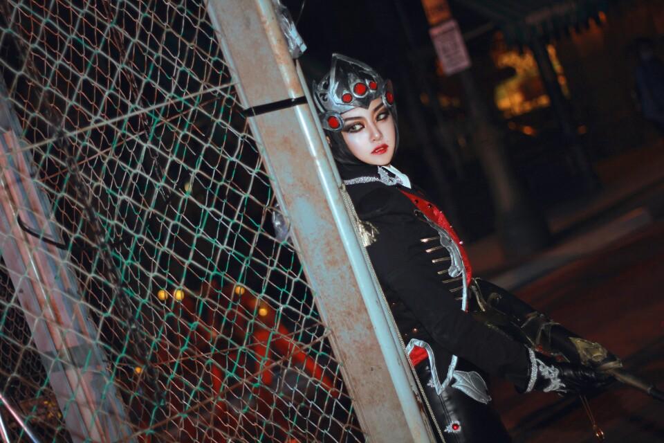 Ngắm cosplay Huntress Widowmaker của Akhee - Ảnh 06