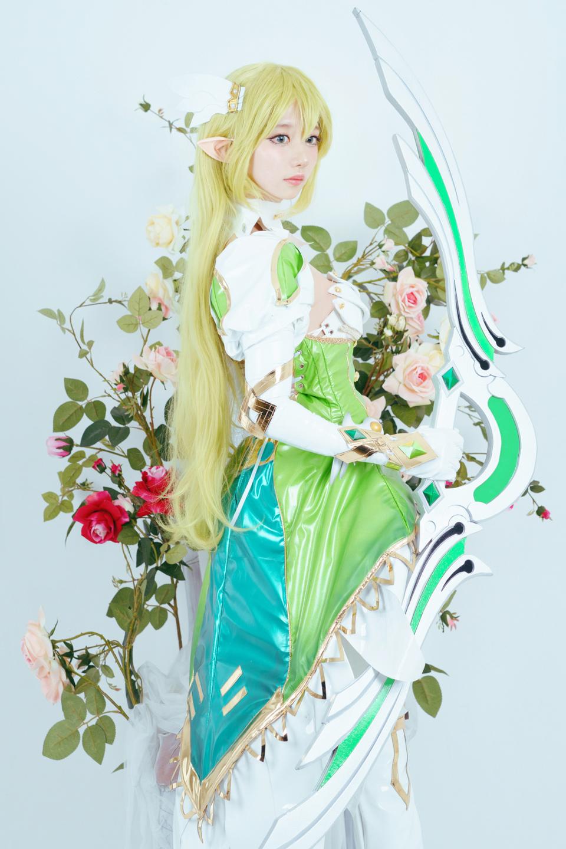 Elsword: Ngắm cosplay Rena cực ngọt ngào của Jcos - Ảnh 02