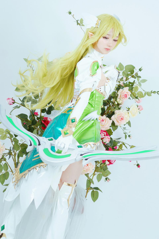 Elsword: Ngắm cosplay Rena cực ngọt ngào của Jcos - Ảnh 04