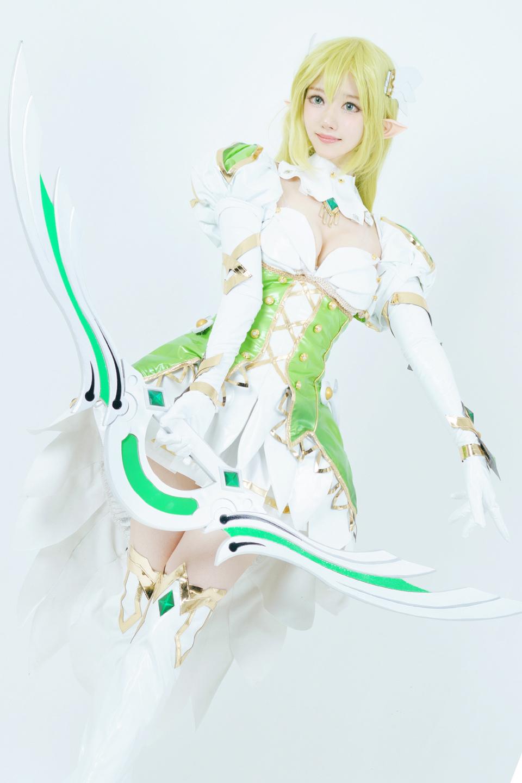 Elsword: Ngắm cosplay Rena cực ngọt ngào của Jcos - Ảnh 05