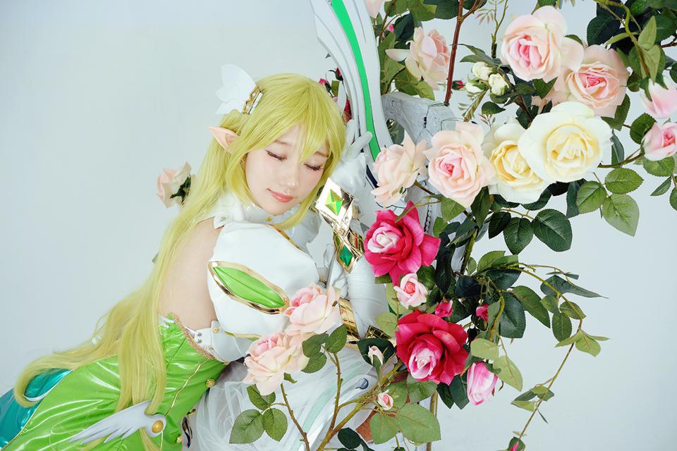Elsword: Ngắm cosplay Rena cực ngọt ngào của Jcos - Ảnh 10