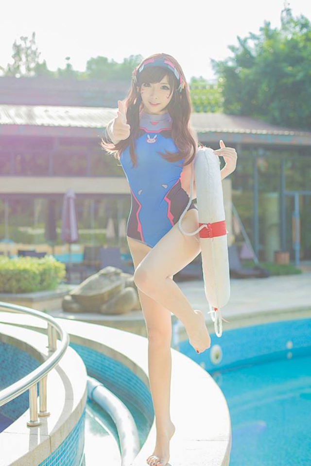 Cosplay D.Va Overwatch by 只是简言 - Image 01