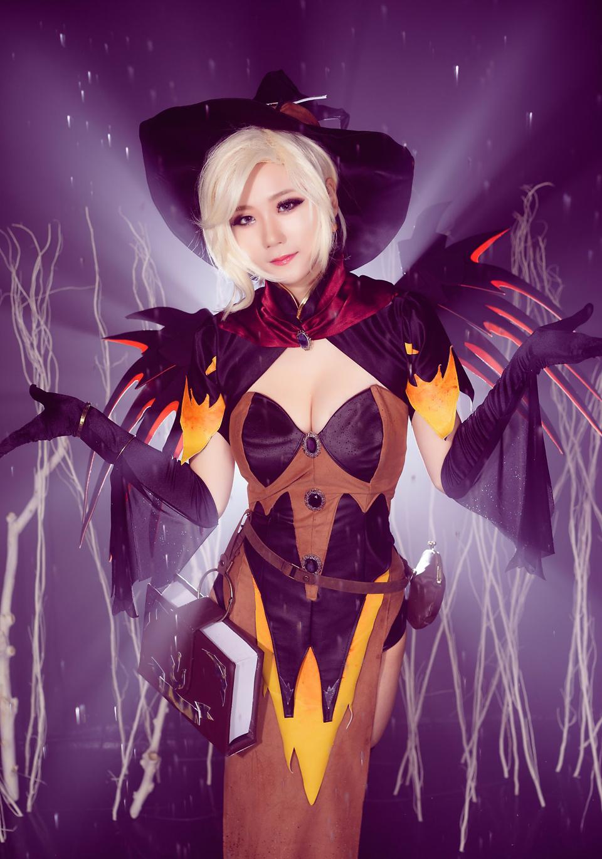 Overwatch: Ngắm cosplay Witch Mercy cực quyến rũ của Jcos - Ảnh 14