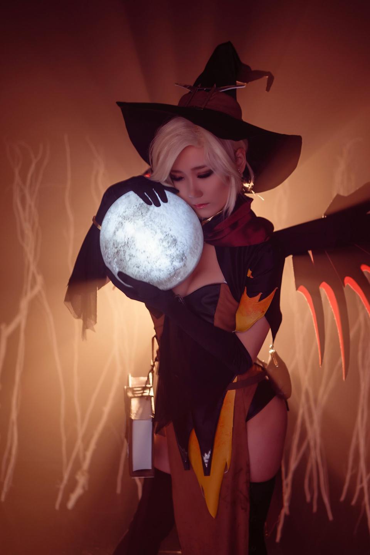Overwatch: Ngắm cosplay Witch Mercy cực quyến rũ của Jcos - Ảnh 15