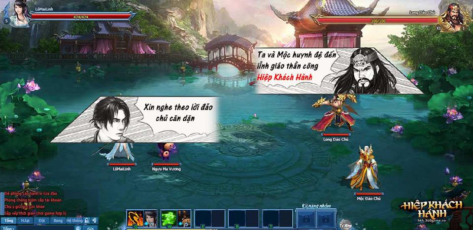 Webgame Hiệp Khách Hành - Ảnh 02