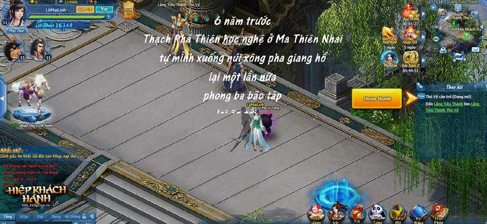 Webgame Hiệp Khách Hành - Ảnh 03