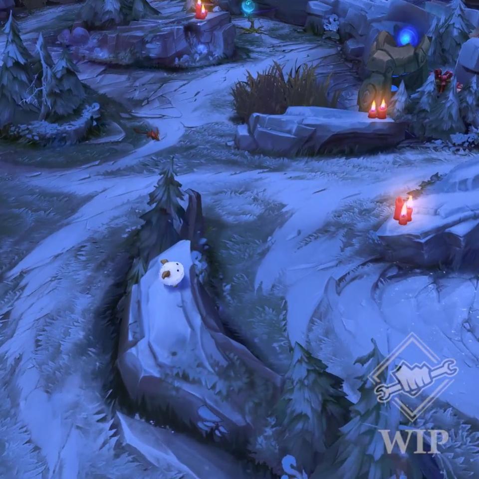 Winter Summoner's Rift - Screenshot 02