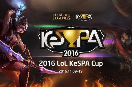 LMHT: Đội hình các đội tham dự LoL KeSPA Cup 2016 8