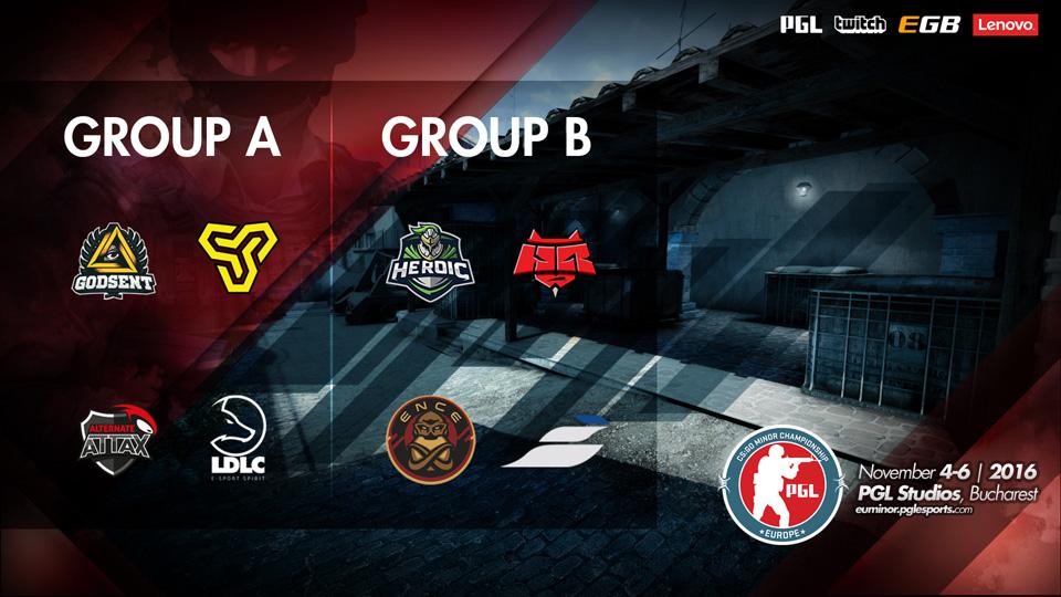 PGL CS:GO Minor Championship: Europe