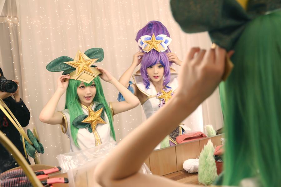 Cosplay Janna Vệ Binh Tinh Tú của Miyuko và Lulu Vệ Binh Tinh Tú của Baily - Ảnh 01