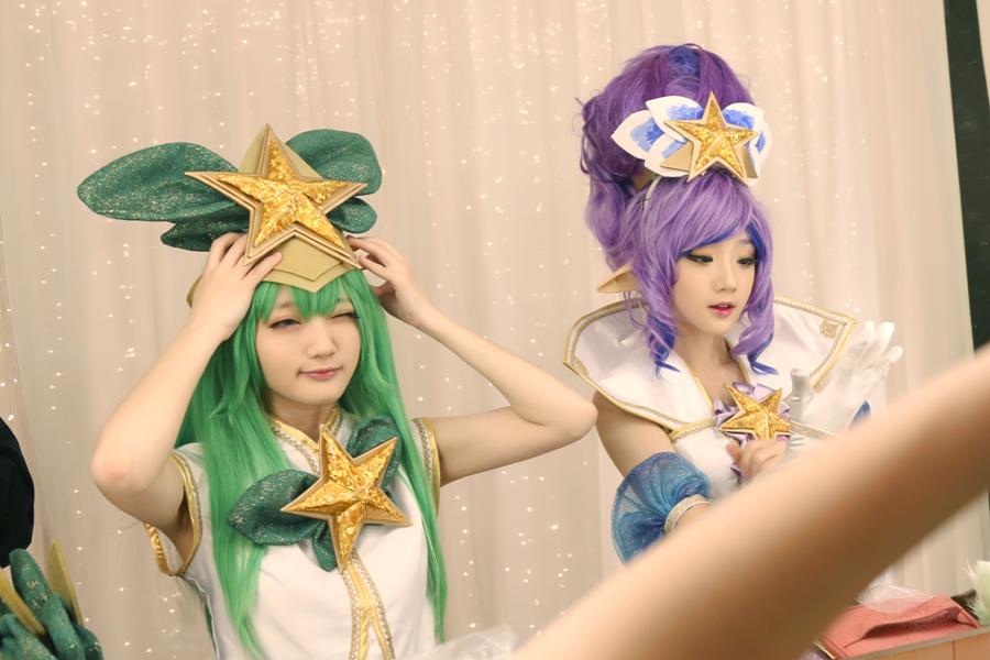 Cosplay Janna Vệ Binh Tinh Tú của Miyuko và Lulu Vệ Binh Tinh Tú của Baily - Ảnh 02
