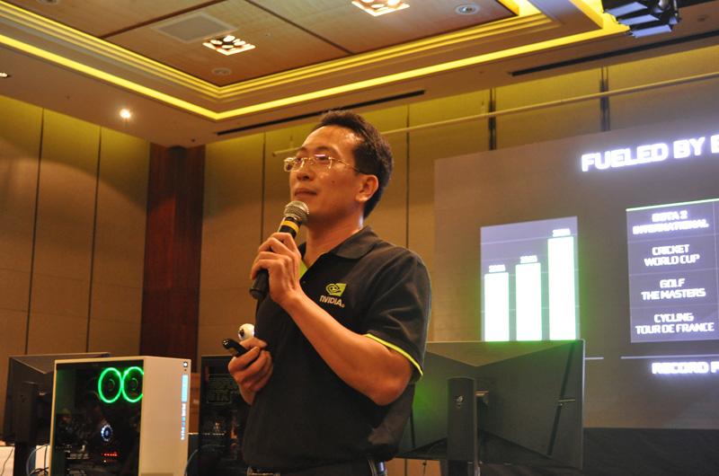Đại diện Nvidia giới thiệu hai mẫu card đồ họa mới GeForce GTX 1050/1050 Ti