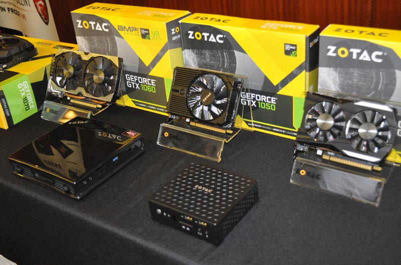 Một phiên bản GTX 1050 của Zotac