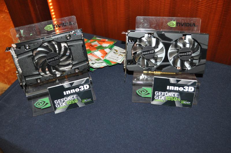 GTX 1050 và 1050 Ti của Inno3D.