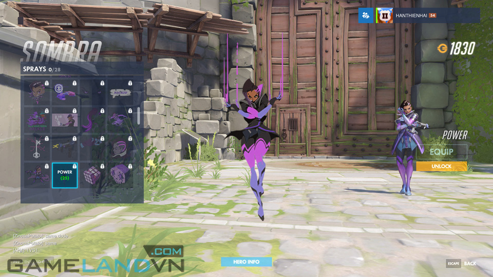 Sombra spray in Overwatch - Screenshot 31