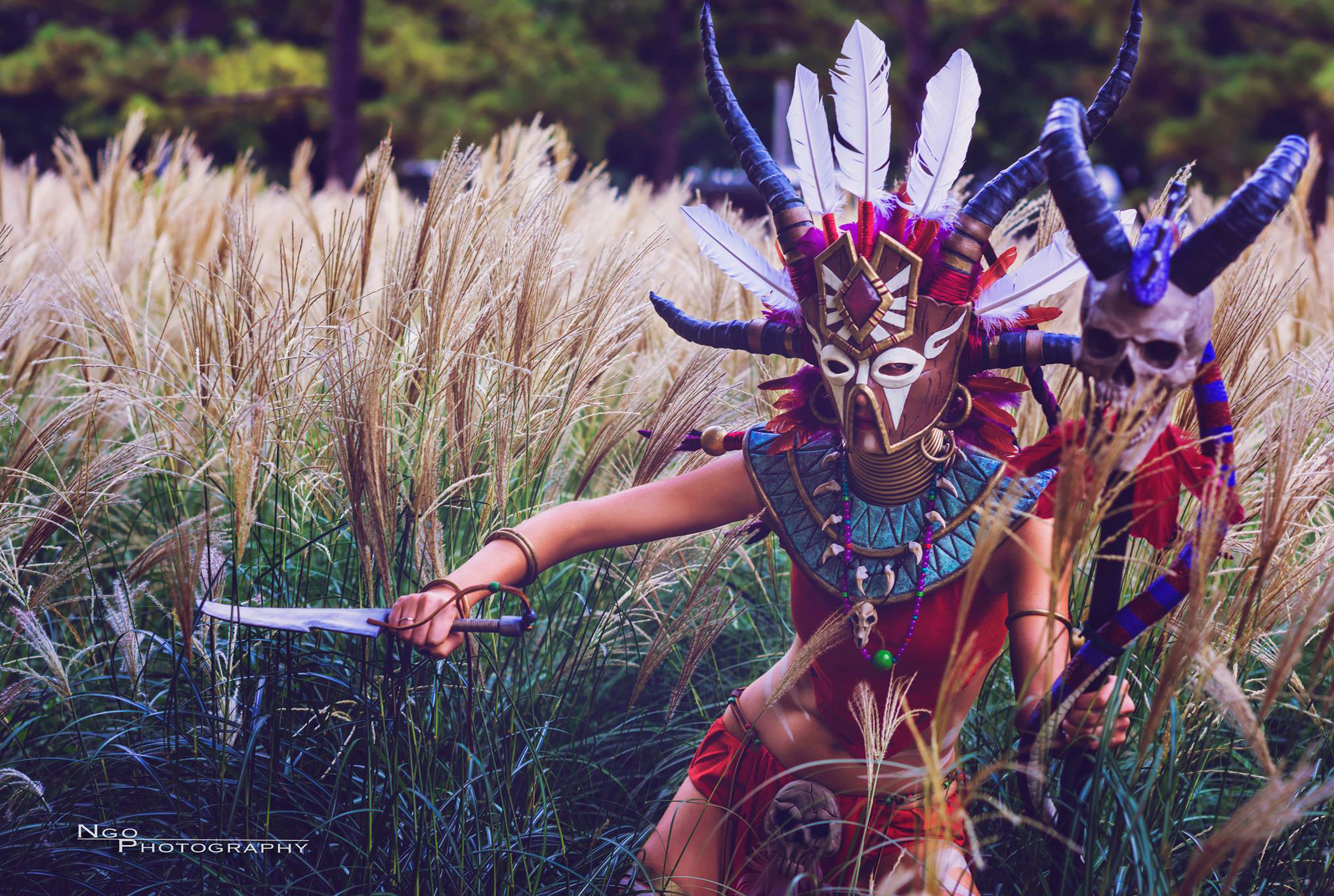 Diablo 3 Witch Doctor cosplay by Methyl Ethyl Cosplay - Photo 03