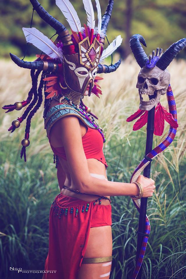 Diablo 3 Witch Doctor cosplay by Methyl Ethyl Cosplay - Photo 04