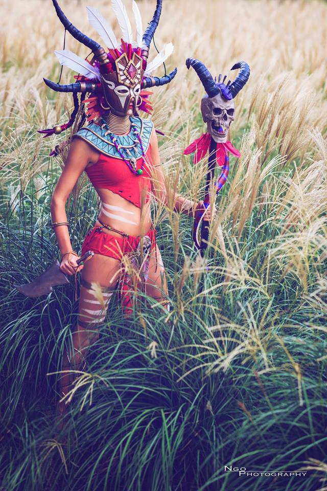 Diablo 3 Witch Doctor cosplay by Methyl Ethyl Cosplay - Photo 05