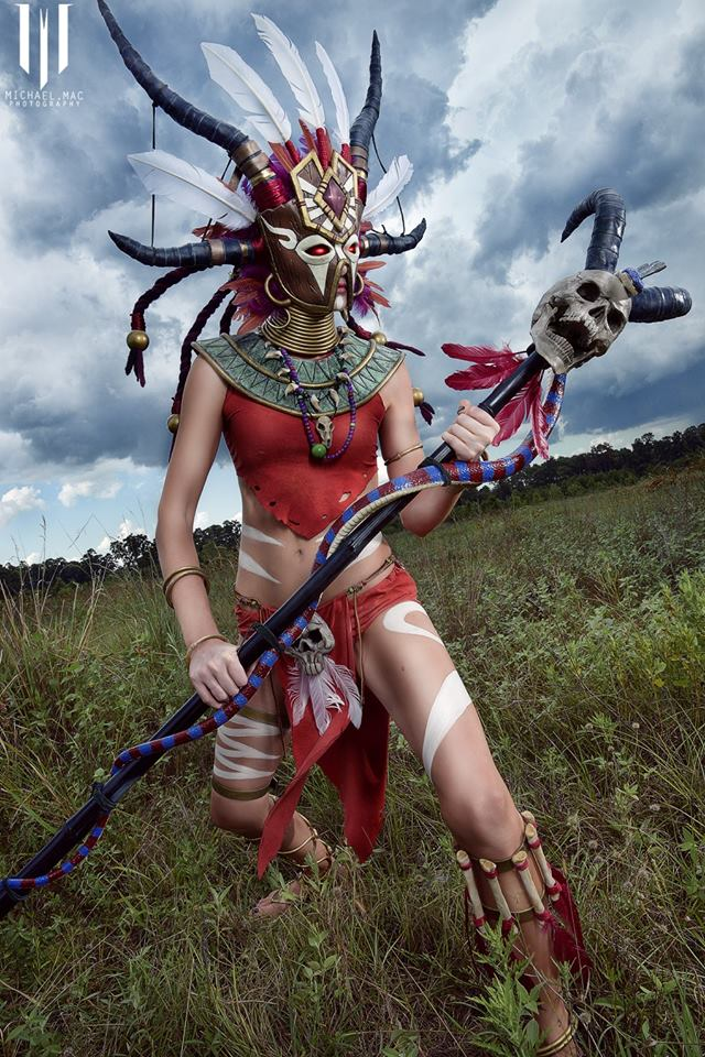 Diablo 3 Witch Doctor cosplay by Methyl Ethyl Cosplay - Photo 06
