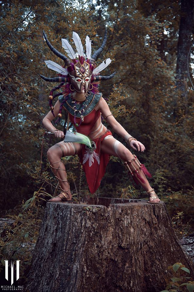 Diablo 3 Witch Doctor cosplay by Methyl Ethyl Cosplay - Photo 07