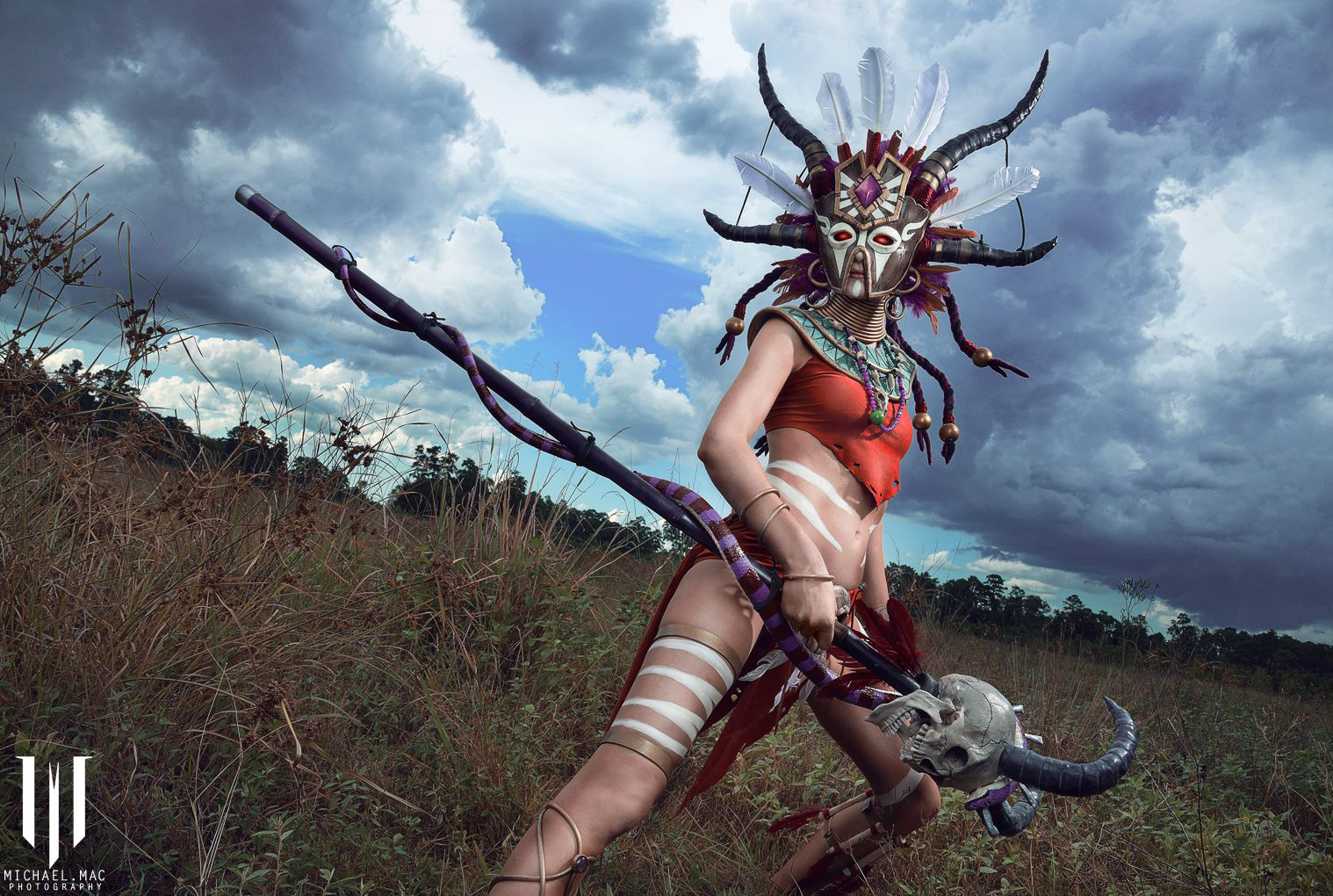 Diablo 3 Witch Doctor cosplay by Methyl Ethyl Cosplay - Photo 08