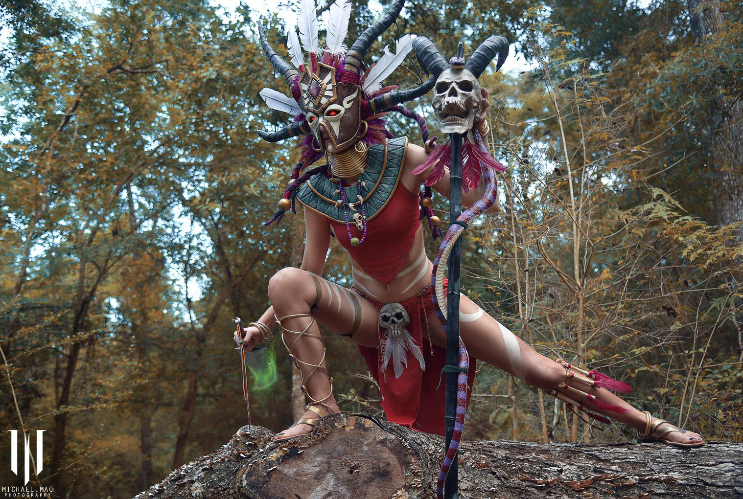 Diablo 3 Witch Doctor cosplay by Methyl Ethyl Cosplay - Photo 09