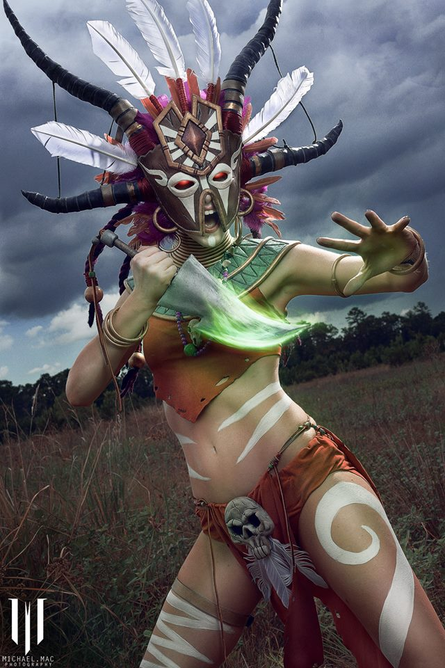Diablo 3 Witch Doctor cosplay by Methyl Ethyl Cosplay - Photo 10