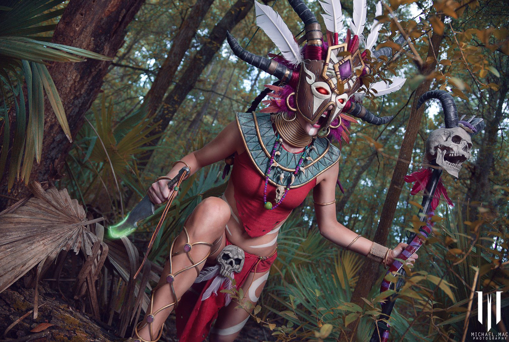 Diablo 3 Witch Doctor cosplay by Methyl Ethyl Cosplay - Photo 12