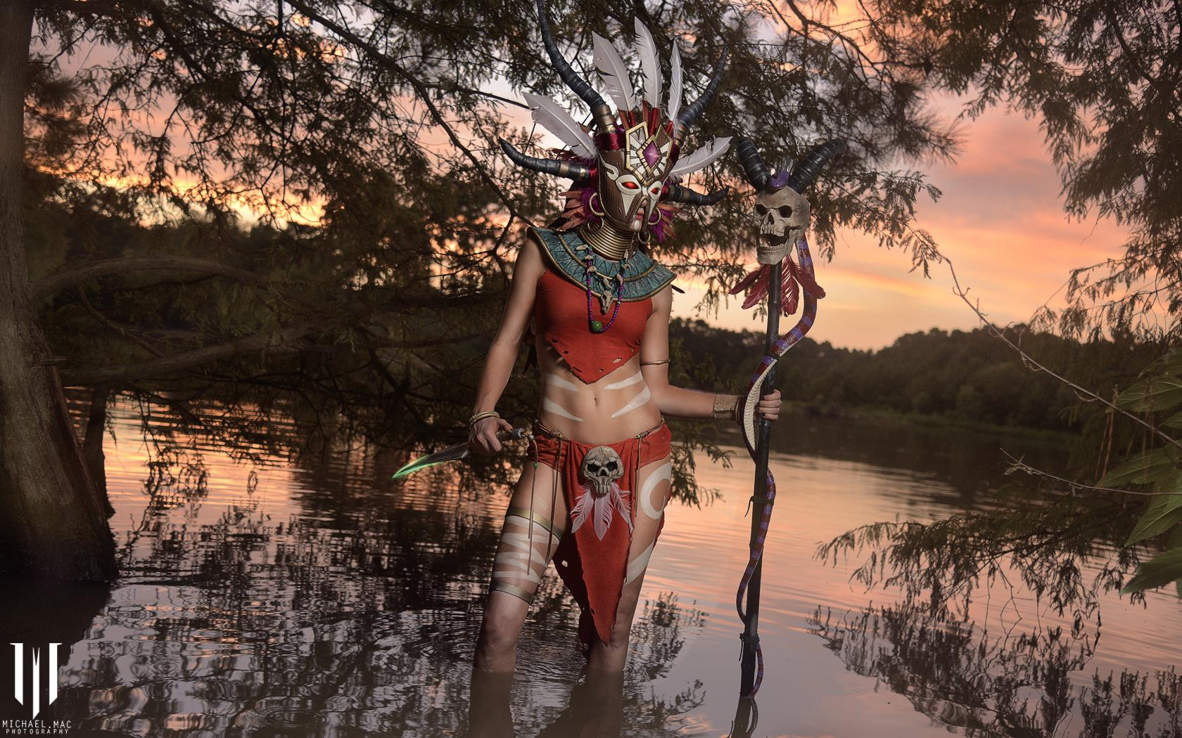 Diablo 3 Witch Doctor cosplay by Methyl Ethyl Cosplay - Photo 13