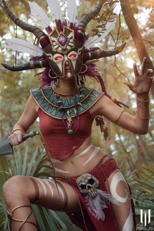 Diablo 3 Witch Doctor cosplay by Methyl Ethyl Cosplay - Photo 14