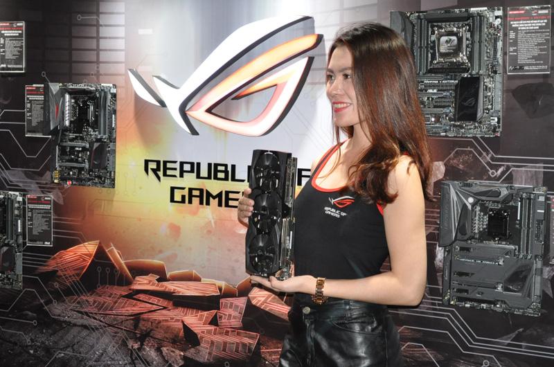 ROG, thương hiệu số 1 về chơi game trên toàn thế giới.