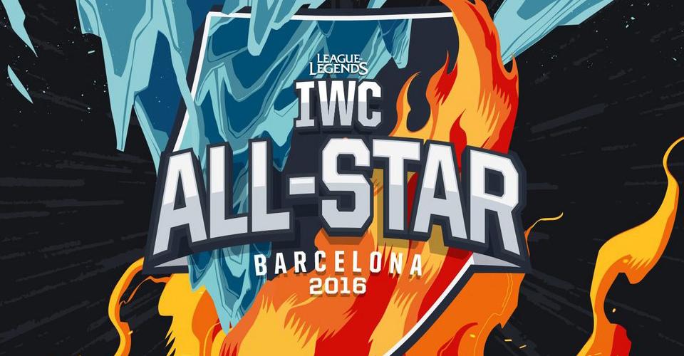 Danh sách các đội tuyển tham dự IWC All-Star Barcelona 2016