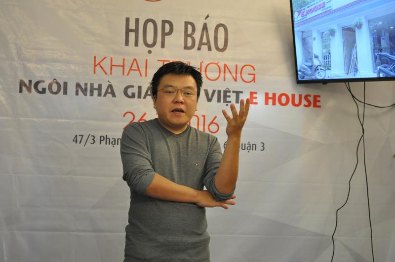 Anh Tuấn Huy, Giám đốc E House.