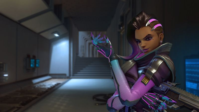 Overwatch Sombra Screenshot