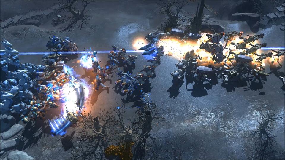 Art of War: Red Tides Screenshot 01
