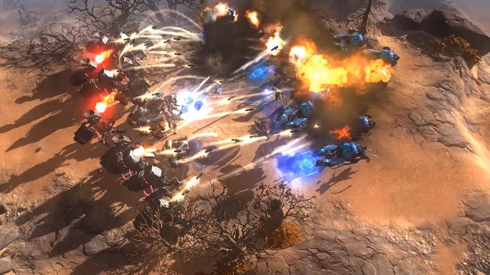 Art of War: Red Tides Screenshot 03