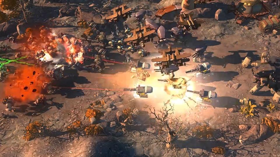Art of War: Red Tides Screenshot 04