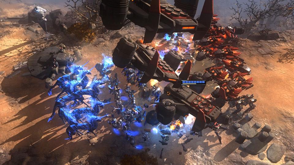 Art of War: Red Tides Screenshot 05