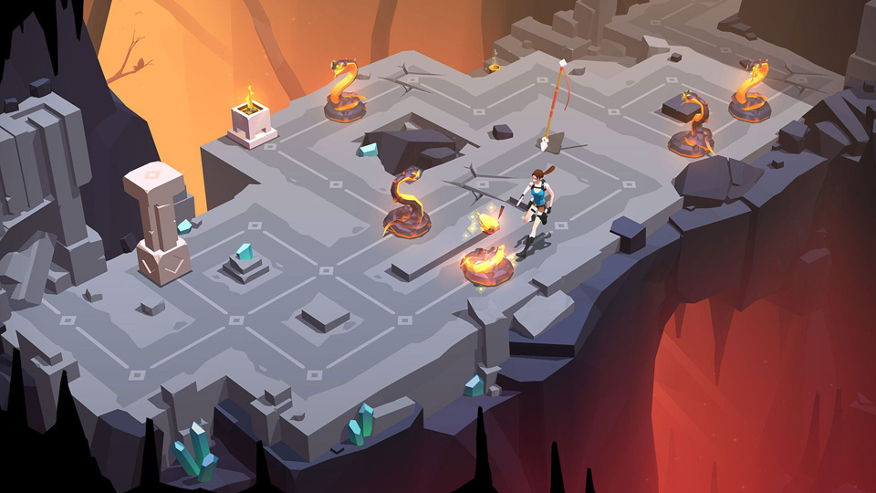 Lara Croft GO Screenshot 09