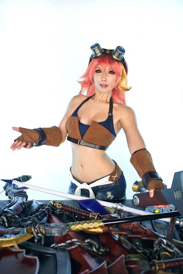Cosplay MapleStory 2 của Tasha - Ảnh 06