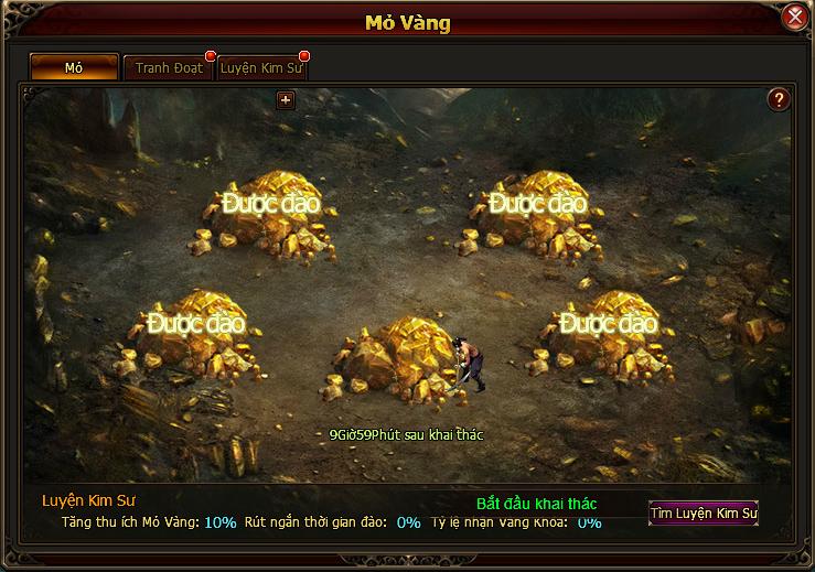 Ngắm ảnh Việt hóa của webgame Lang Gia Bảng