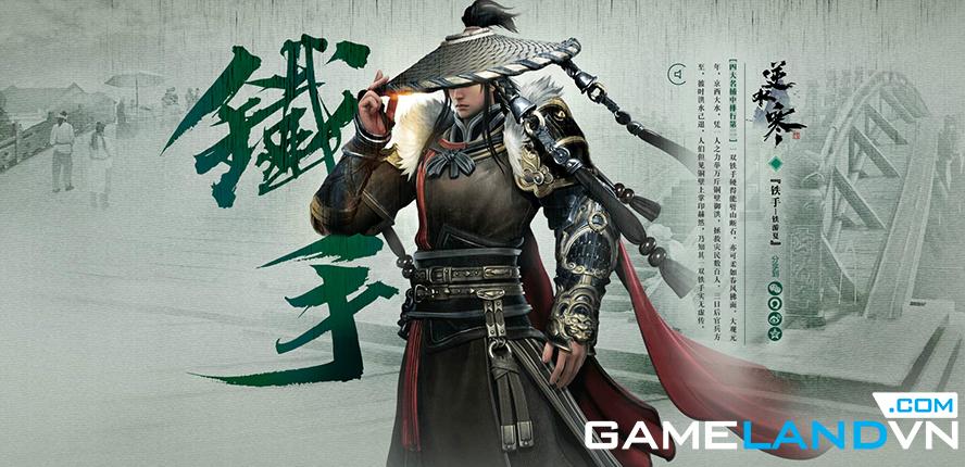 NetEase công bố game online mới Nghịch Thủy Hàn