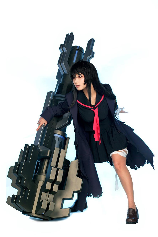 Tasha cực ngầu với cosplay Iris Yuma trong Closers Online - Ảnh 2