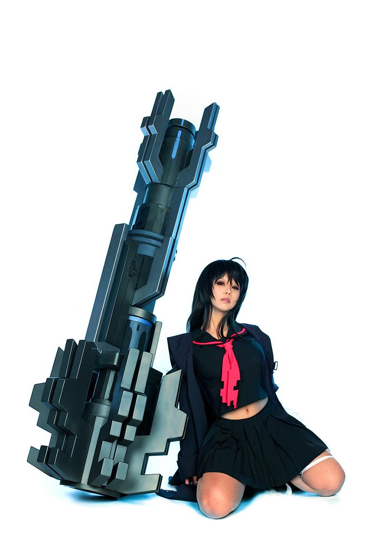 Tasha cực ngầu với cosplay Iris Yuma trong Closers Online - Ảnh 8