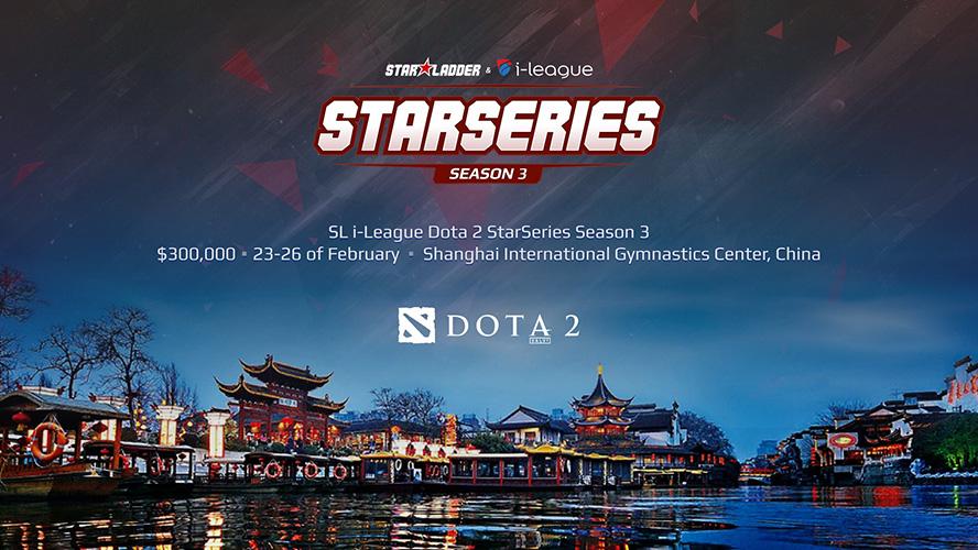 Kết quả chia bảng StarLadder i-League StarSeries Season 3