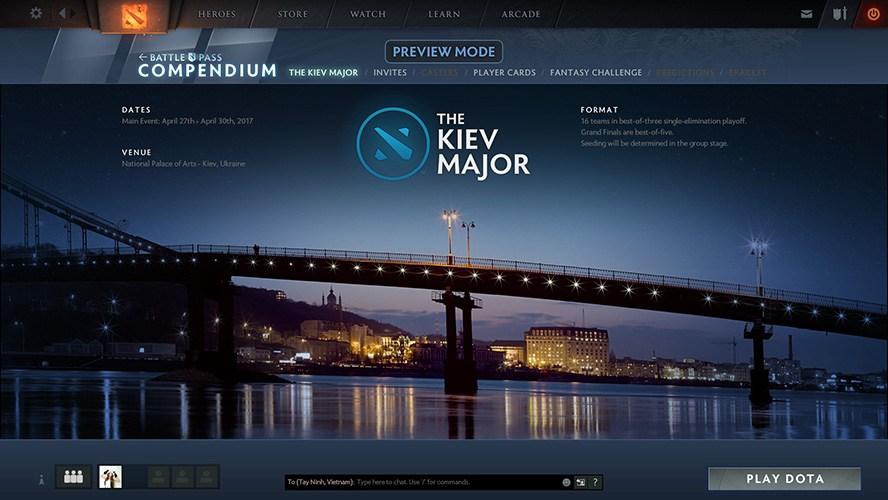 The Kiev Major 2017 công bố vé mời - Ảnh 2