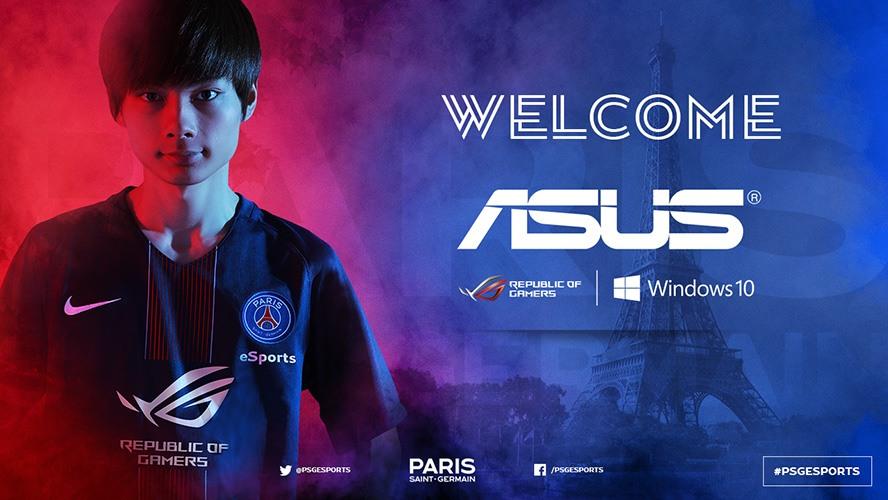 ASUS ROG công bố tài trợ cho PSG eSports - Ảnh 2