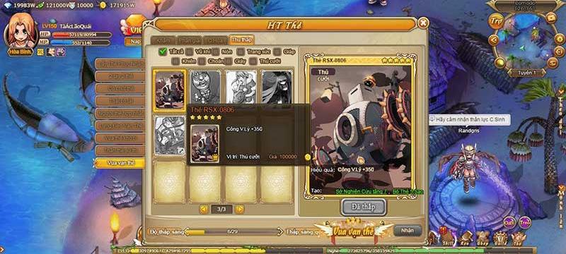 Sưu tầm thẻ bài: Nghề chơi công phu trong Ragnarok Web - Ảnh 1