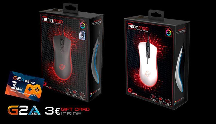 Ozone Neon M50 ra mắt với giá 1.280.000 đồng
